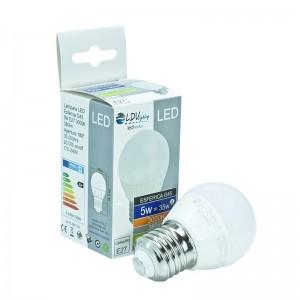 LAMPARA LED ESFERICA 6W E27