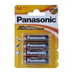 Pilas Panasonic LR06 Alcalinas