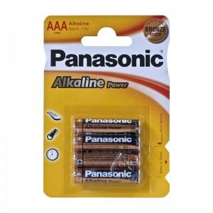 Pilas Panasonic LR03 Alcalinas