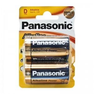 Pilas Panasonic LR20 Alcalinas