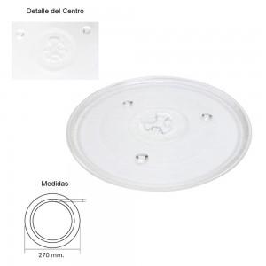 Plato Microondas Panasonic