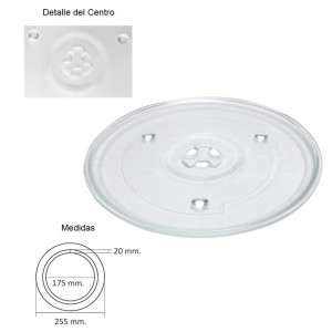 Plato Microondas Samsung -...