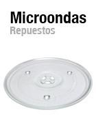 Repuestos para hornos microondas - Platos microondas