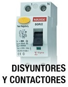 Disyuntores y contactores automaticos - Magnetotérmicos