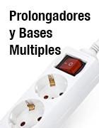 Material eléctrico para el hogar - Bases multiples y prolongadores